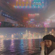 Instagram【ako_122】さんの写真をピンしています。 《香港ぽいやつものせとこ🎋🐼🍜🌶 _ (顔まんまるだが)(あと手塚治虫だが) #お気に入り _ #香港#夜景#女人街#金魚街 #ヴィクトリアハーバー #シンフォニーオブライツ #ヴィクトリアピーク #100万ドルの夜景》