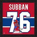 Photo File Montreal Canadiens P.K. Subban 20x20 Uniframe - Shop.Canada.NHL.com