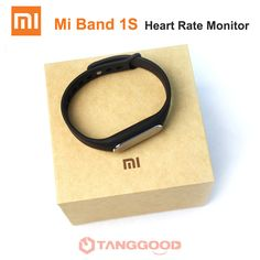 Xiaomi Mi Band 1S Smart Band of Heart Rate Pedometer Fitness Mi Fitbit Band Waterproof  #freedelivery #Earrings #Audiobooks #Bracelets #Drones #Ebook #Electronics #Digital #Gardening #Phones