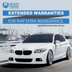 Extended warranties for that extra reassurance. http://www.selectwarranty.com.au/