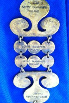 Modernist Bronze Pendant with Chain by Designer Seppo Tamminen Finland Bronze Pendant, Space Age, Brutalist, Finland, Scandinavian, 1960s, Vintage Jewelry, Chain, Ebay