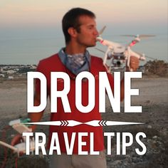 Drone travel tips for your upcoming journey: Whether you're traveling the  world for a year or just heading to a neighboring state, there are a few  tips you're going to want to know before taking off on any travels with  your drone.  We cover drone travel bags, preventing theft while abroad,  flight tips, and even what tools to carry with you for in field drone  repair.