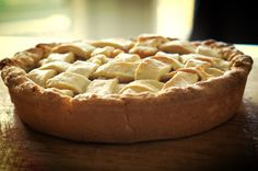 The humble traditional apple pie! So simple and delicious!