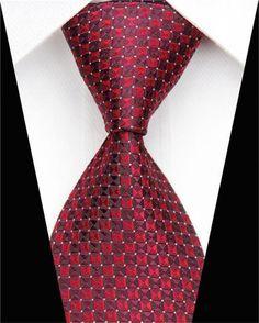 Hagora Mens Hot Purple White Striped Festive Elegant Handmade Woven Silk Tie