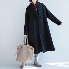 women thicken wool coat.women loose wool coat/women от babyangella