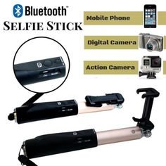 Original NOOSY Bluetooth Selfie Stick Monopod for Mobile Phone IOS Android Gold for sale online Gold For Sale, Selfie Stick, Gopro Hero, Digital Camera, Bluetooth, Phone, Ebay, Telephone, Digital Camo