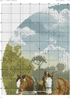 Cross Stitch House, Embroidery On Clothes, Counted Cross Stitch Patterns, Teamwork, Machine Embroidery, Needlework, Painting, Needlecrafts, Cross Stitch