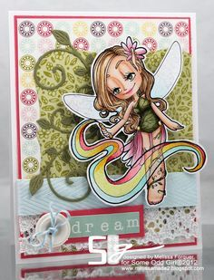 butterfly friend fairy some odd girl | some odd girl pixie | Our last Fairy digi – sending Rainbows of LOVE ...