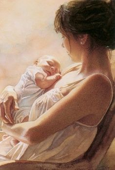 The most precious moment is when you hold an entire future life in your arms and nothing else exists.