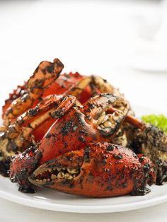 Black Pepper Crab... best eaten in Singapore ;-)