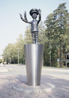 Pekka Kauhanen: Art Police, 2006 Public Art, Finland, Contemporary Art, Sculpture, Fine Art, Artist, Police, Collections, Painting