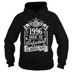 MADE IN 1996 - 1996 BIRTHDAY T-SHIRT T-SHIRTS, HOODIES, SWEATSHIRT (39.99$ ==► Shopping Now)