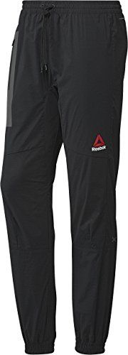 Reebok Mens Element Site Woven Joggers Black XXLarge >>> Continue to the product at the image link.(This is an Amazon affiliate link and I receive a commission for the sales)