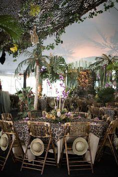 Metro Luxe Events Candice Vallone: A Jungle Safari Party