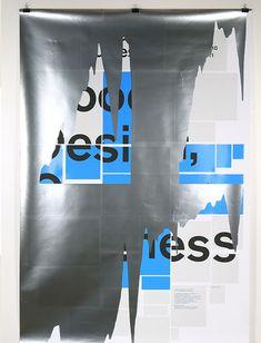 Top Trends in Print Design for 2013: Experimental design