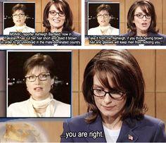 Tina Fey. hahahaha