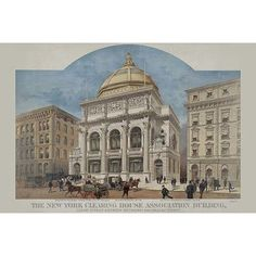 Buyenlarge 'New York Clearing House Association Building' Vintage Advertisement