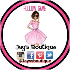 THANK YOU 10K FOLLOWERS❤️ Like, Follow, Share & Tag. Follow Game to Increase your followers.  You Can also my other poshmark account @jays_boutique_ & FOLLOW ME ON TWITTER, PINTEREST, AND INSTAGRAM AS @jayssboutique  and like my facebook page facebook.com/jayssboutique THANK YOU  Other