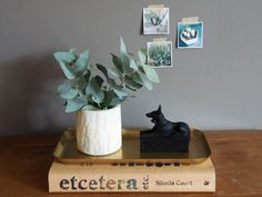 This heavy and beautifully structured pencil holder was put to use as a vase by…