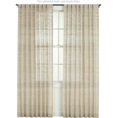 Curtain Option :: Asanto Sand Curtain Panels in Curtains | Crate and Barrel
