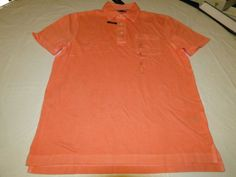 Mens Tommy Hilfiger Polo shirt M medium 7875524 Burnt Coral 947 Classic Fit NEW #TommyHilfiger #polo