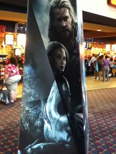 The standee!
