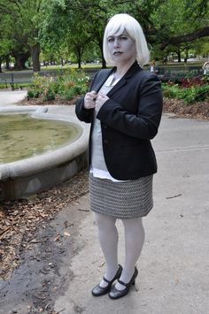 "via Fem!Doctor tumblr | my ""Femme First Doctor"" costume for the Krewe Du Who Femme Doctor photo shoot, April 2013."