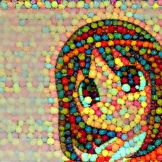 Dreamscope has changed how it does pictures like this but before then, I made a few cereal works through it. This is an old fanart picture of Osaka from Azumanga Daioh that I saved years ago. I combined it with a picture of Trix cereal and got this beauty.