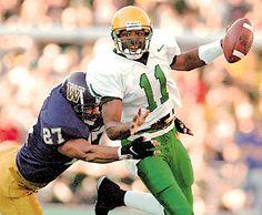 Oregon quarterback Akili Smith 1997 vs. Washington.