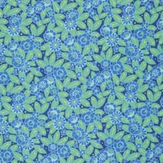 Camellia in sky, Violette Collection by Amy Butler, yard Amy Butler Fabric, Etsy Fabric, Navy Quilt, Dressmaking Fabric, Camellia, Fabric Patterns, Fabric Design, My Etsy Shop