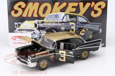 Chevrolet Bel Air, Stock Car Daytona Beach 1957, No.3, Paul Goldsmith. GMP, 1/18, Limited Edition 930 pcs. Price (2016): 135 EUR.