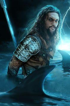 Jason Momoa as Aquaman •Bosslogic