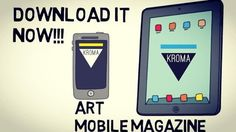 KROMA Art Mobile Magazine - Download it NOW for FREE, and enter a world of Art and Creativity.  Visit www.kromamagazine.com and click on AppStore or Play Store download links.  #kromamagazine #pikatablet #artmagazine #ios #android #mobilemagazine Magazine Art, Art World, Ios, Smartphone, Creativity, Android, Play, Store, Instagram Posts