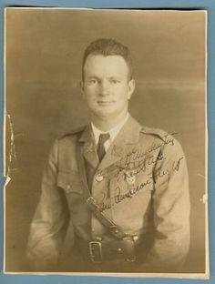 pilot Lt. Weddington 1926