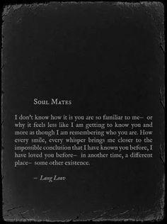 Lang Leav - Soul mates #Phrase