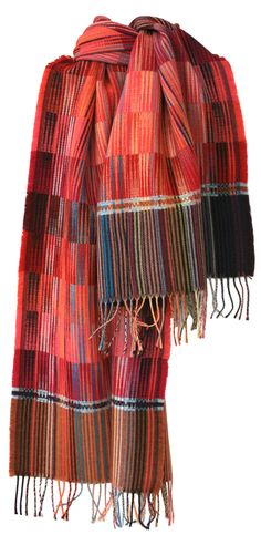 wallace#sewell Triangle Weave Wraps. foulards £105