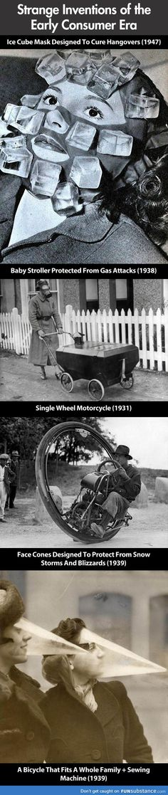 Inventions from the days of yore