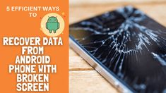 Are you looking to recover data from Android phone with broken screen? Get the best ways to retrieve broken screen data from Android Recovery Tools, Data Recovery, New Android Phones, Ios Operating System, Broken Phone, Cable One, Broken Screen, Network Switch, Sd Card