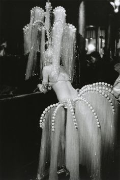 Showgirl, Les Folies Bergere Photo by Edouard Boubat, 1960