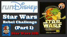 Run Disney Star Wars Rebel Challenge Part 1 – Star Wars 10K #RunDisney #RebelChallenge #StarWars #RunChat