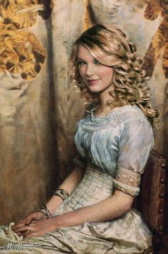 Taylor Swift (Celebrities edited into classic works of art)