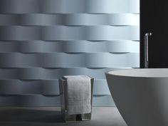 3D Wall Panel ONDALUNGA by 3D Surface | design Jacopo Cecchi, Romano Zenoni