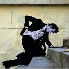 Dear art lover, today we are going to present to you Funny Art Installations By Levalet. The Beyonce of street art, this contemporary artist is turning the sad 3d Street Art, Urban Street Art, Murals Street Art, Amazing Street Art, Art Mural, Street Art Graffiti, Street Artists, Urban Art, Amazing Art