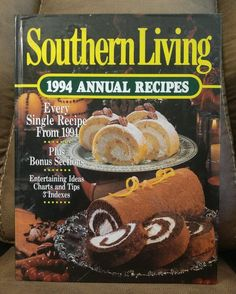 $16.95 OBO! Southern Living CookBook 1994 Annual Recipes Oxmoor HC Vintage Collectible