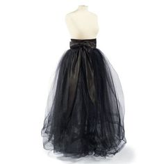 Tulle Skirt with Sash - perhaps could make this for a rad witch costume