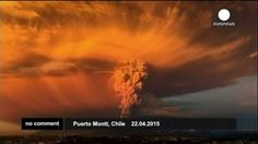 El Cabulco entra en erupción