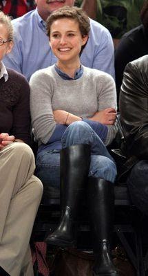 Natalie Portman in Aigle -- 'To the Eagle!'