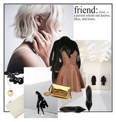 """""""Friends"""" by sue-mes ❤ liked on Polyvore featuring moda, Yves Saint Laurent, Lanvin, Hyein Seo, Joana Almagro y Marni"""