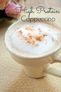 High Protein Cappuccino