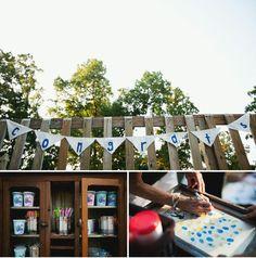 A Backyard Wedding in Missouri: Logan + Josh